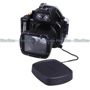 pro 40m waterproof underwater camera housing case for