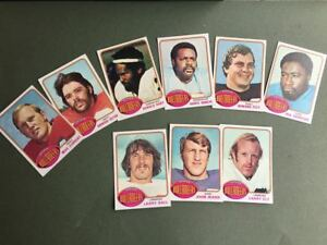 Lot-cartes-NFL-Tampa-Bay-Buccaneers-Topps-1976-1980-1981-Football-Americain