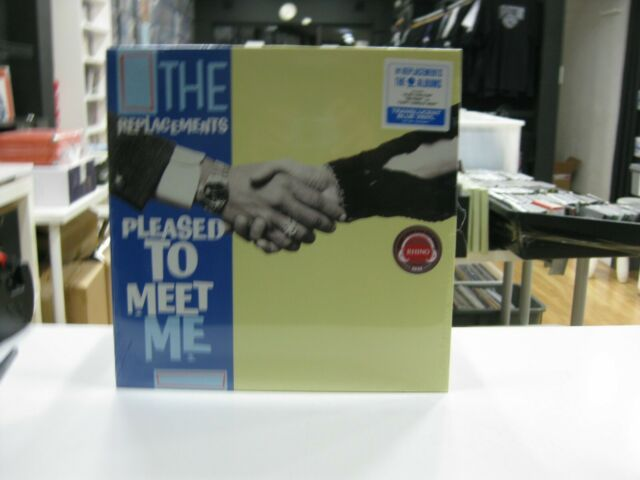 THE REPLACEMENTS LP EUROPE PLEASED TO MEET ME 2020 LIMITED BLUE TRANSLUCED