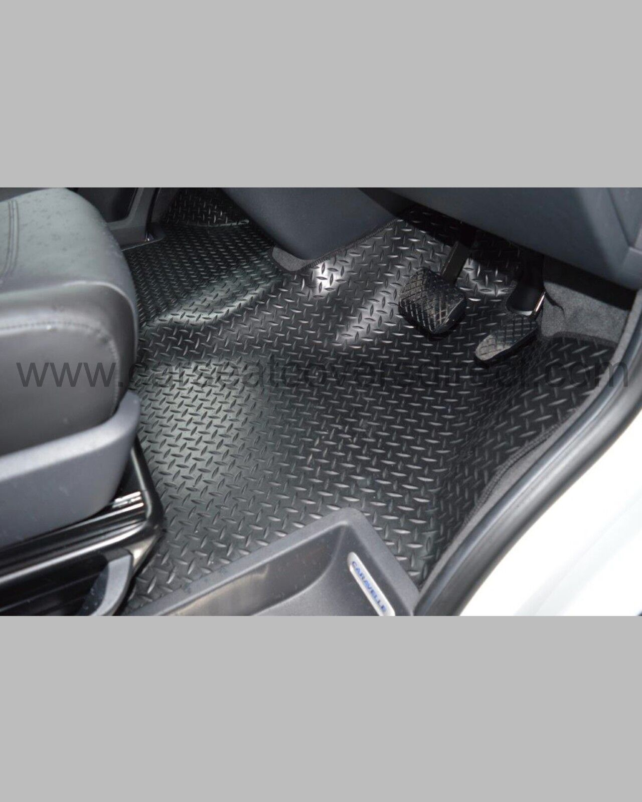 Vw Transporter T6 Heavy Duty Rubber Floor Mats Full