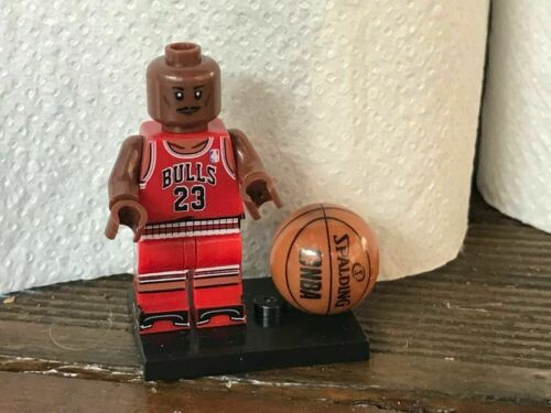 MINI FIGURINE TYPE LEGO NBA BASKET MICHAEL JORDAN