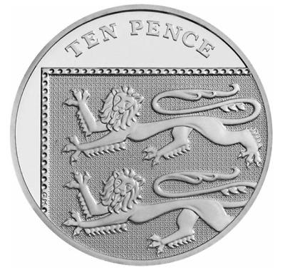 2016 ten pence coin