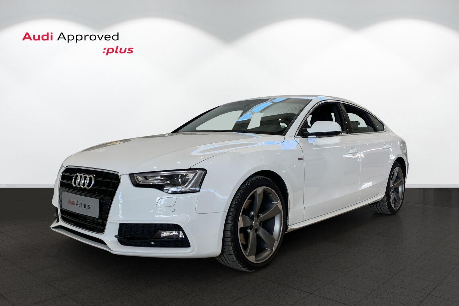 Audi A5 1,8 TFSi 144 Limited Sportback Multitr. 5d - 289.900 kr.