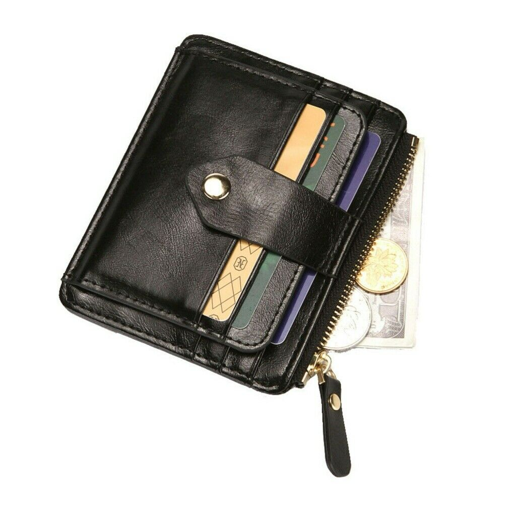 1PC Men Fashion Wallet PU Leather Coin Purse Clutch Bag for Adults Men Male