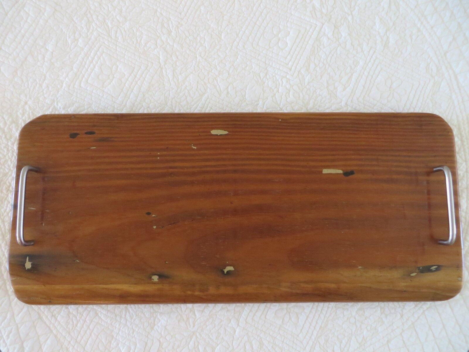 Reclaimed décoratif en bois Planche à Découper Plateau Bois étagère