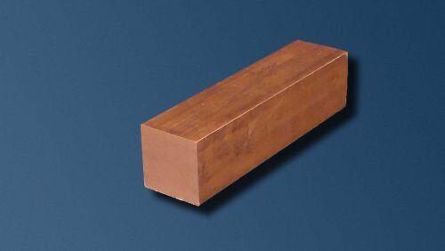"6.35mm 1//4/"" Square Copper X 300mm Long"