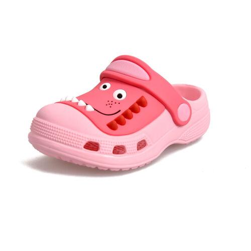 Girls Boys Infants Beach Clogs Mules Surf Pool Kids Sandals Flip Flop Shoes