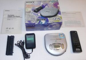 Details about Sony Video CD Discman D-V55 - Personal Portable CD & Video  Player