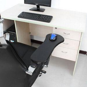 ... Double Attachment Ergonomic Arm Rest Support Wrist Mouse