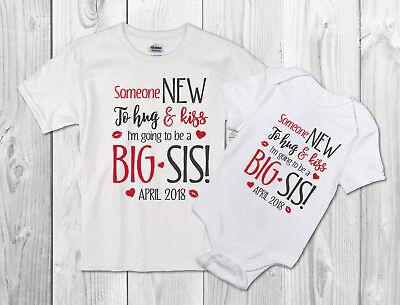 Big Sister Valentine/'s Day Pregnancy Announcement