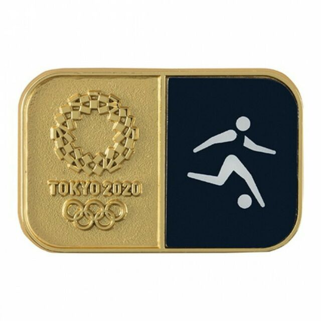 Tokyo 2020 Olympic Games Sports Pictogram Football Pin ...