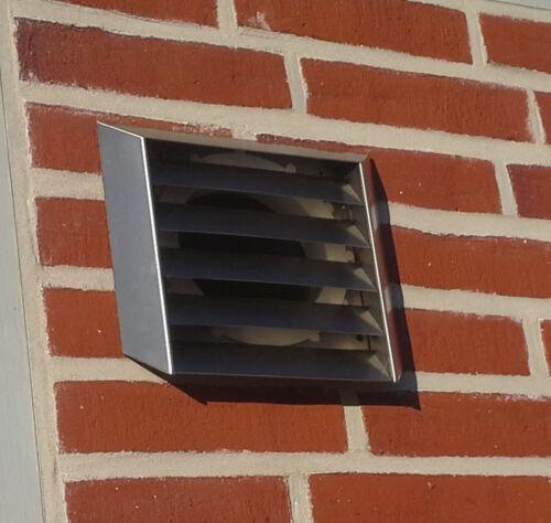 Mur encadré Acier Inoxydable ø150 brume déduction Naber thermobox mkwself 150 NATB