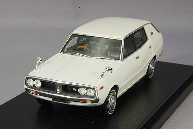 1 43 Hi-Story Nissan Skyline 1800 Vagón Deportivo GL 1972 biancao HS151WH