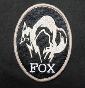 METAL GEAR SOLID FOXHOUND LOGO PS4 XBOX SPECIAL BLCK OPS ...