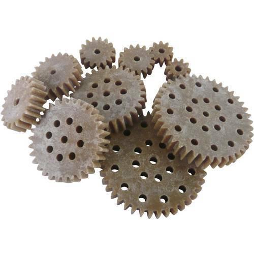 Reely legno plastica assortimento di ingranaggi tipo modulo 1.0 numero