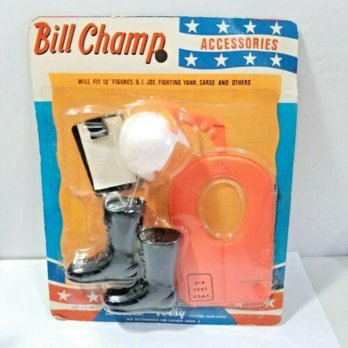 Vintage Bill Champion Accessoires TOTSY Jouet En Paquet Inutilisé pilote de la Force aérienne