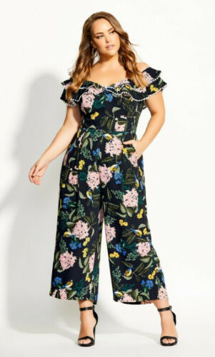 size 16 RRP $179.95 New with Tags CITY CHIC Moonlight Jumpsuit size S