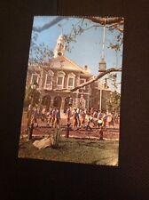 k3-2 Postcard Used 1977 Walt Disney World USA Sons Of Liberty