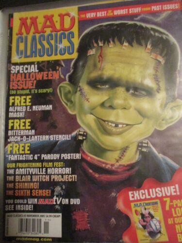 Original Vintage November 2005 MAD CLASSICS #3 Fantastic 4 Blair Witch 411A