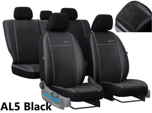 Mercedes Clase a W169 2004-2011 Eco Cuero Y Alicante Tailored Fundas De Asiento