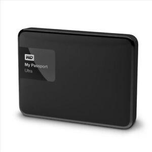 1TB-Black-Western-Digital-My-Passport-Ultra-Portable-Hard-Drive-USB3