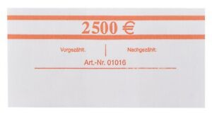50 St/ück Blau 20x 20/€ EURO Banderolen 50 St/ück f/ür je 20 Banknoten EUR Geldscheinbanderole Geldb/ündel
