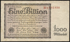 Ro.131c 1 Billion Mark 1923 (3-)