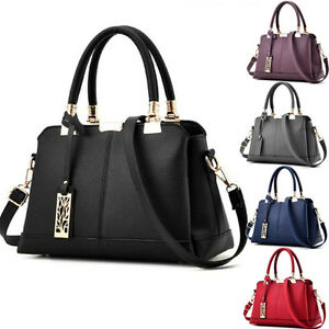 Designer-Womens-Large-Leather-Handbags-Shoulder-Bags-Messenger-Hobo-Tote-Purse