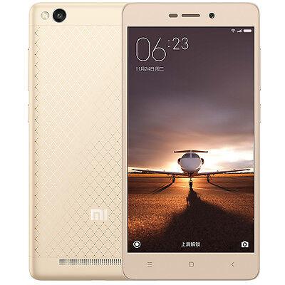 XIAOMI Hongmi Redmi 3 Smartphone MIUI 7 Snapdragon 615 Octa Core FM GPS 2GB 16GB