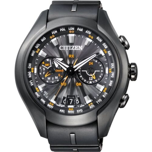 1 of 1 - Citizen Eco-Drive Mens Promaster Satellite Wave Titanium Watch CC1075-05E