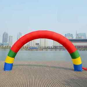 Custom-Logo-Discount-20ft-10ft-D-6M-20ft-inflatable-Rainbow-arch-Advertising