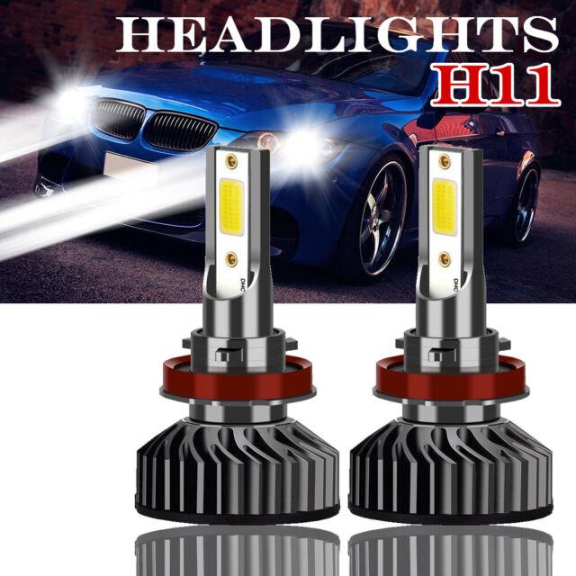 MINI H8 H11 LED Fog Light Plug-N-Play Bulb 6000K White For