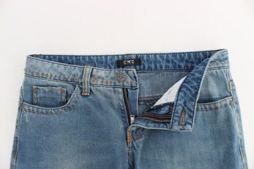 à en Bleu jambe National Costume droite Pantalon Jeans classique W26 C'n'c Nouveau 220 denim 04nqzz