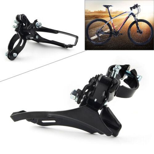 Tourney MTB FD-TZ30 7//6 42T Front Derailleur Road Bike Bicycle Parts Black Black