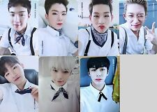 MONSTA X PICNIC IN MONBEBE WORLD FAN MEETING OFFICIAL PHOTO CARD SET (7 Cards)