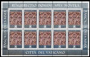 Vatikan Kleinbogensatz MiNr. 1665 postfrisch MNH (T330