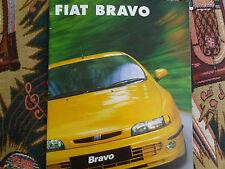 FIAT BRAVO OPUSCOLO 1998