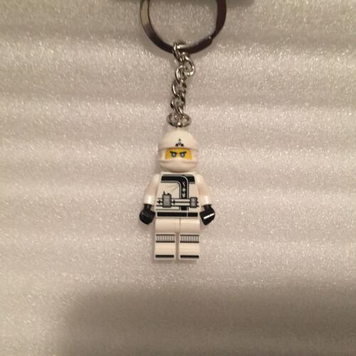 NEW Lego 853695 Zane Ninja keychain minifigure The Ninjago Movie Authentic