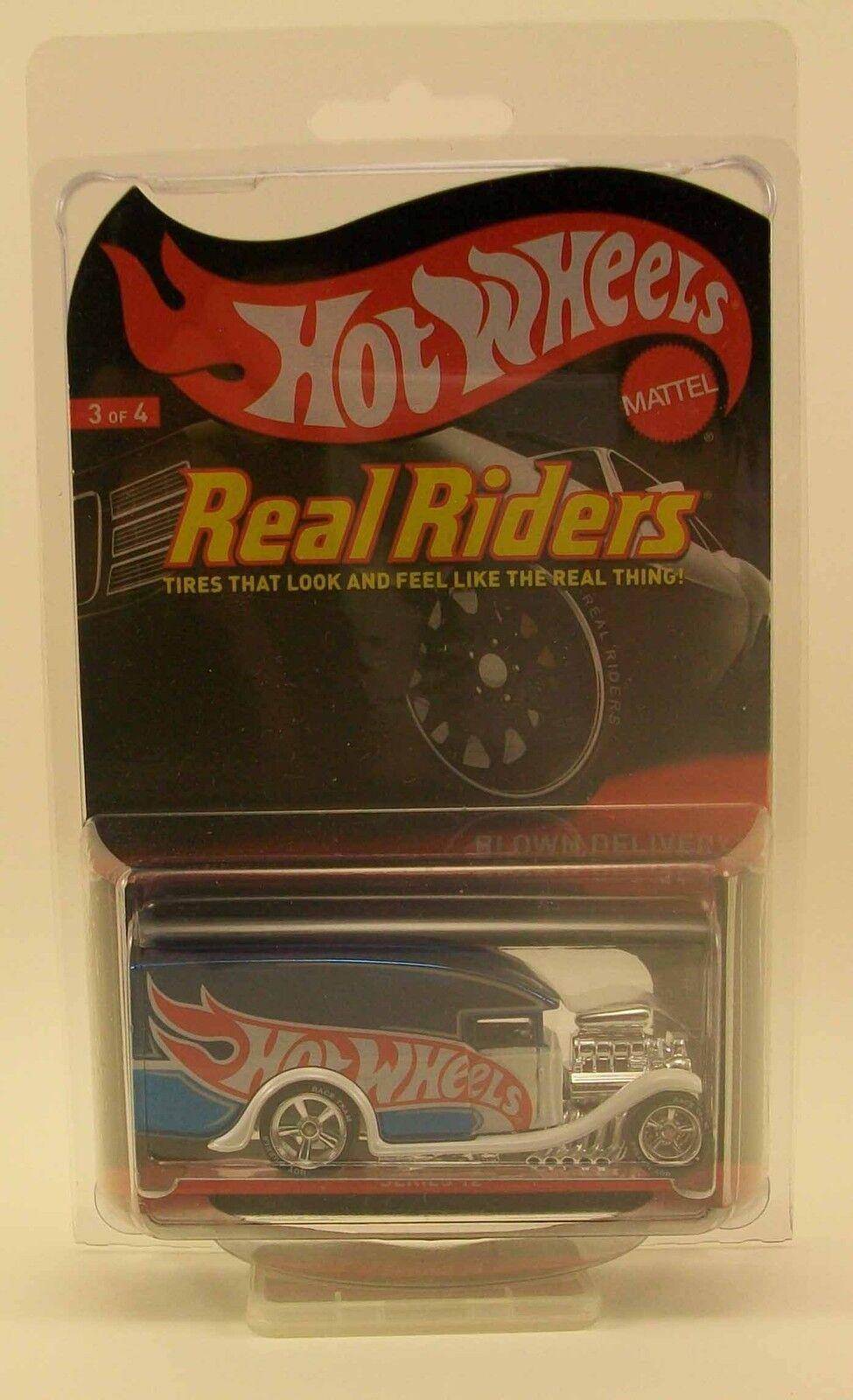 comprar barato Hot Wheels HWC Soplado Soplado Soplado entrega limitada a 4500 rojo Line Club serie 12 Real Rider  clásico atemporal