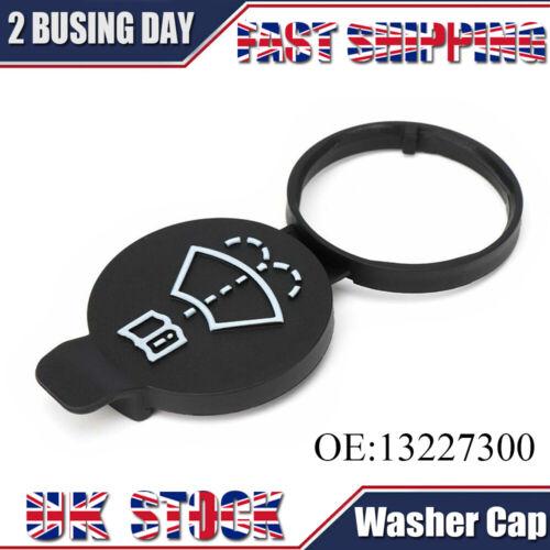 For Vauxhall Windscreen Black Washer Bottle Cap Screenwash Insignia 13227300