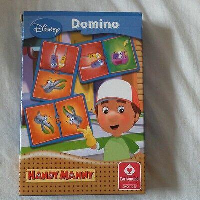 Disney, Handymanny Domino Gioco Di Carte. Nuovo.-mostra Il Titolo Originale