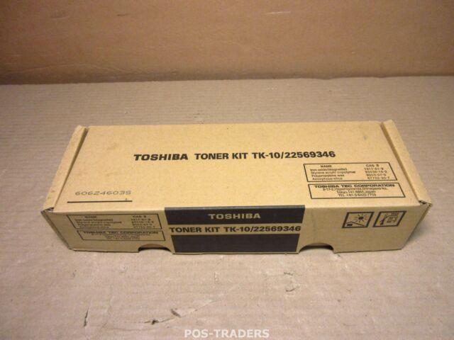 Toshiba toner cartridge black 22569346 TK10 WorkCentre Pro 635 645 657 NEW NEU