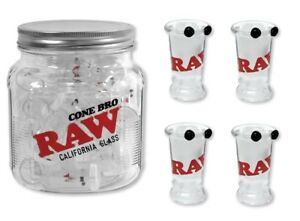 4X-RAW-Rolling-Papers-034-California-Roor-CONE-BRO-034-Glass-Tip-Cigarette-Holders