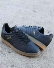 adidas Originals Gazelle Trainers Black Leather Sizes UK 5 BD7480 ...