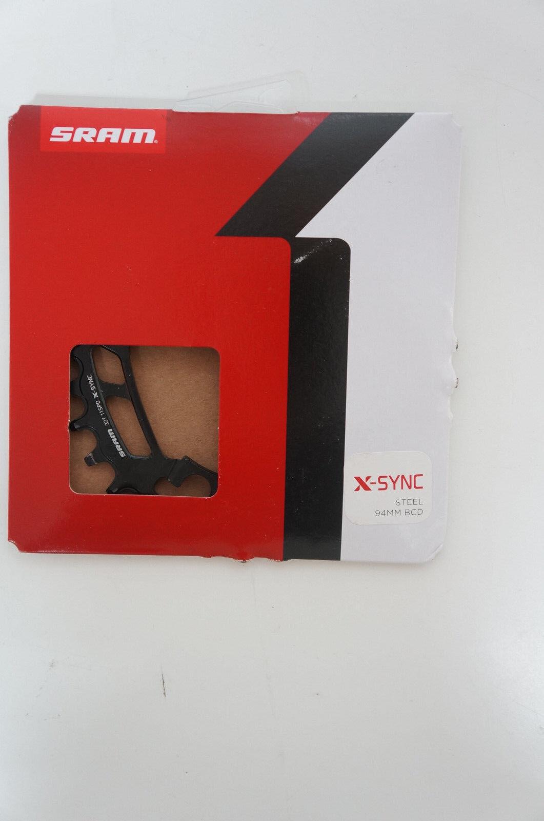 Sram Plato Acero X-Sync 32 Dientes Negro Nuevo   638  envío gratuito a nivel mundial