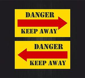 2x Autocollant sticker macbook voiture avion aviation aeroport keep away w8IFuaQ6-09111609-155556277