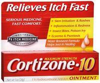 Cortizone-10 Maximum Strength Anti-itch Ointment 1 Oz (pack Of 2)