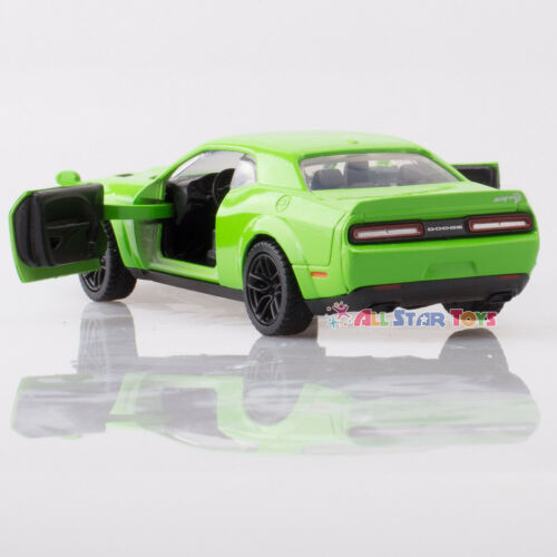 "MOTORMAX AMERICAN LEGENDS 1:43 5/"" 2018 DODGE CHALLENGER SRT HELLCAT Motor Max"