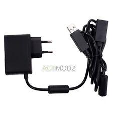 Black Supply Cable Cord Custom USB AC Adapter Power for Xbox 360 Kinect Sensor