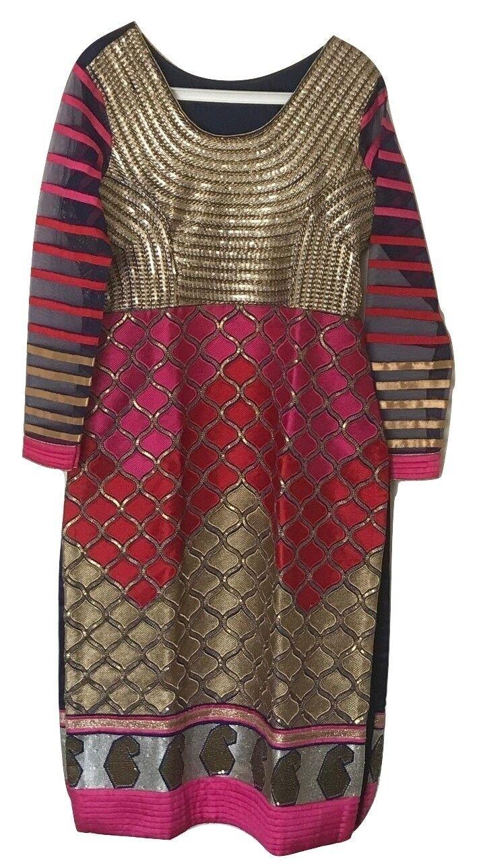 Indian dress Lehenga suit with chunni Multi-coloured